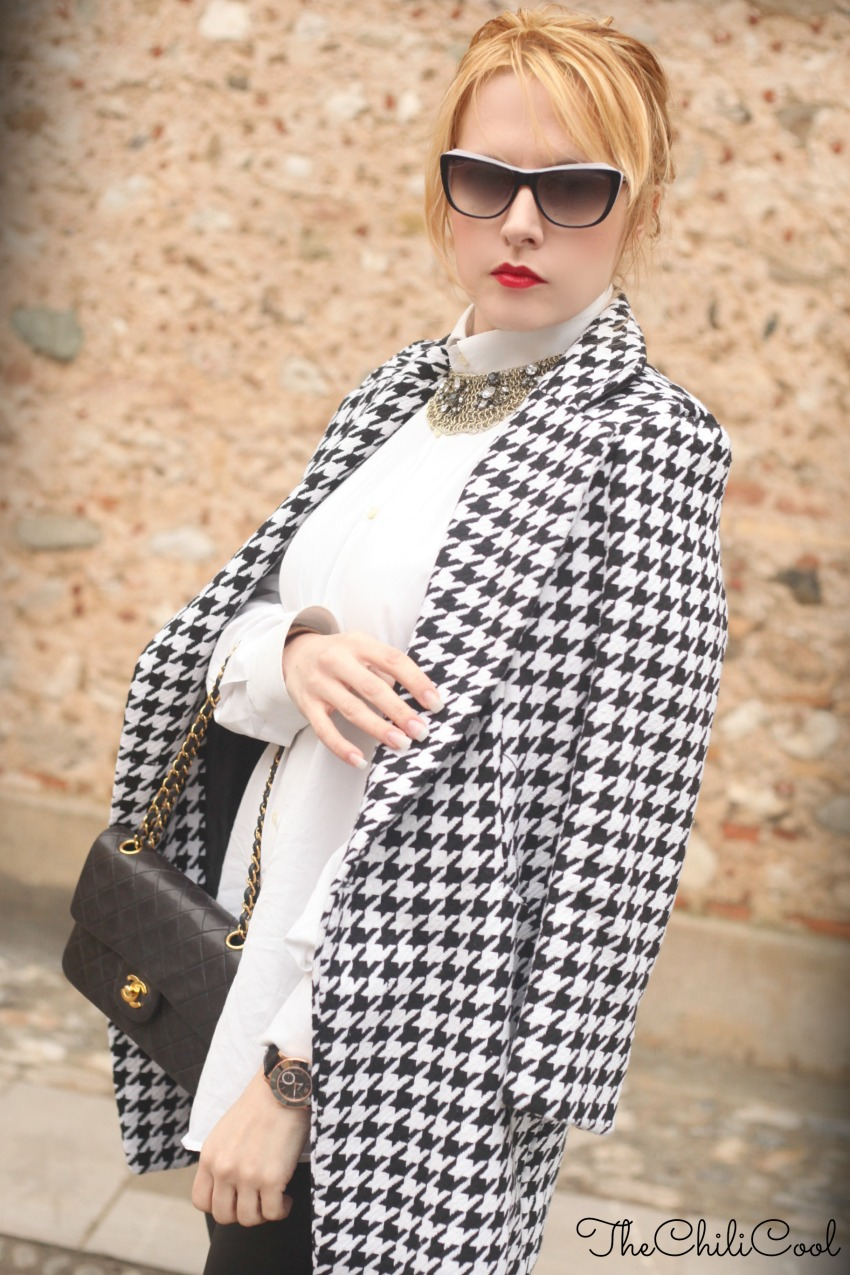 alessia milanese, thechilicool, fashion blog, fashion blogger,cappotto pied de pole, chanel 2.55