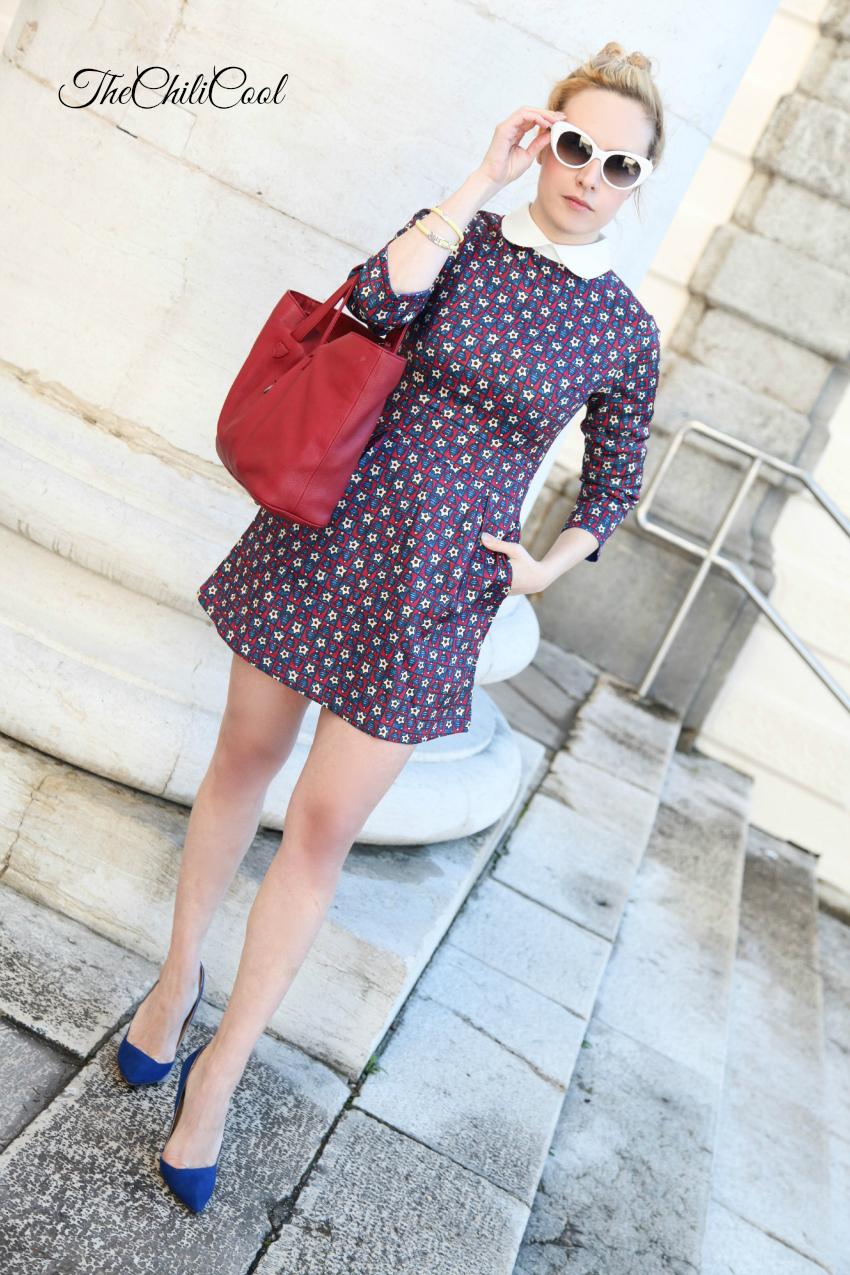 Abitino romantico e chignon - Outfit di San Valentino, alessia milanese, thechilicool, fashion blog, fashion blogger, choies