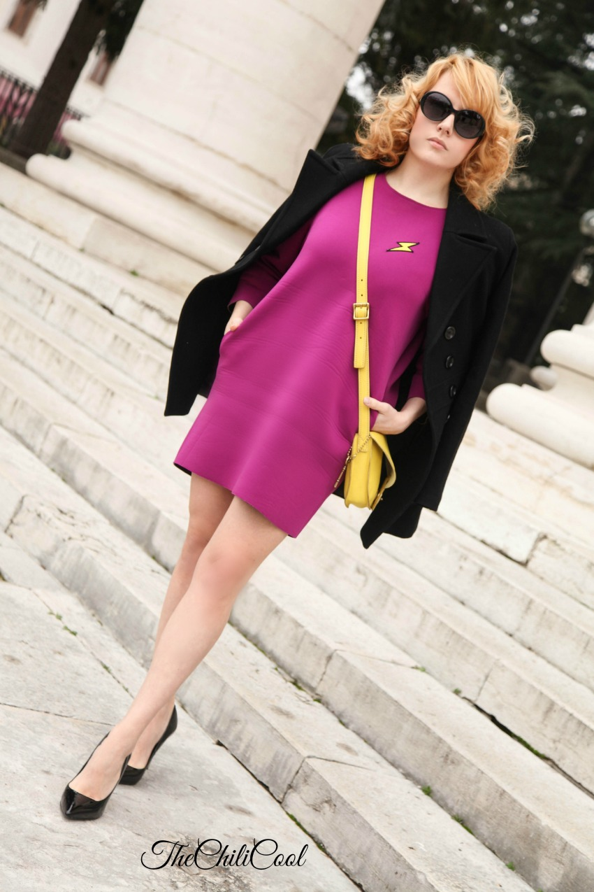 alessia milanese, thechilicool, fashion blog, fashion blogger,purple dress