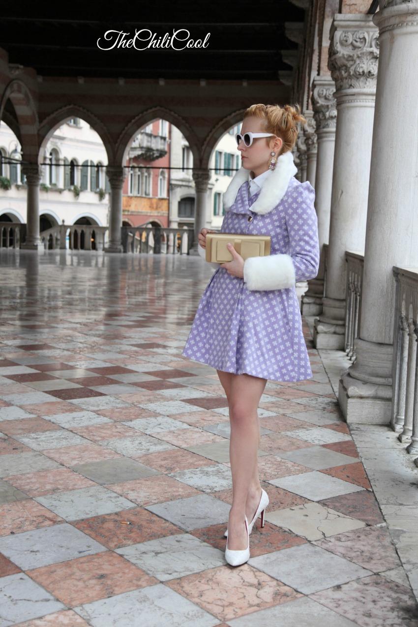 un cappotto da principessa e dettagli bianchi, alessia milanese, thechilicool, fashion blog, fashion blogger
