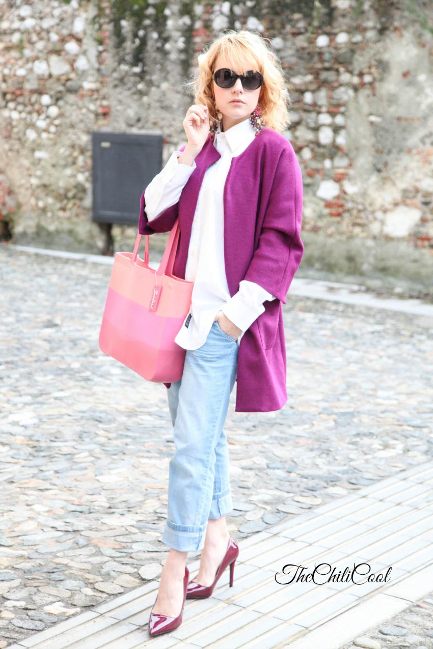 Boyfriend jeans e orecchini preziosi per un tranquillo mercoledì di Febbraio, alessia milanese, thechilicool, fashion blog, fashion blogger