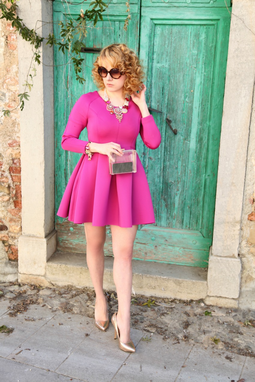 alessia milanese, thechilicool, fashion blog, fashion blogger, pink attitude