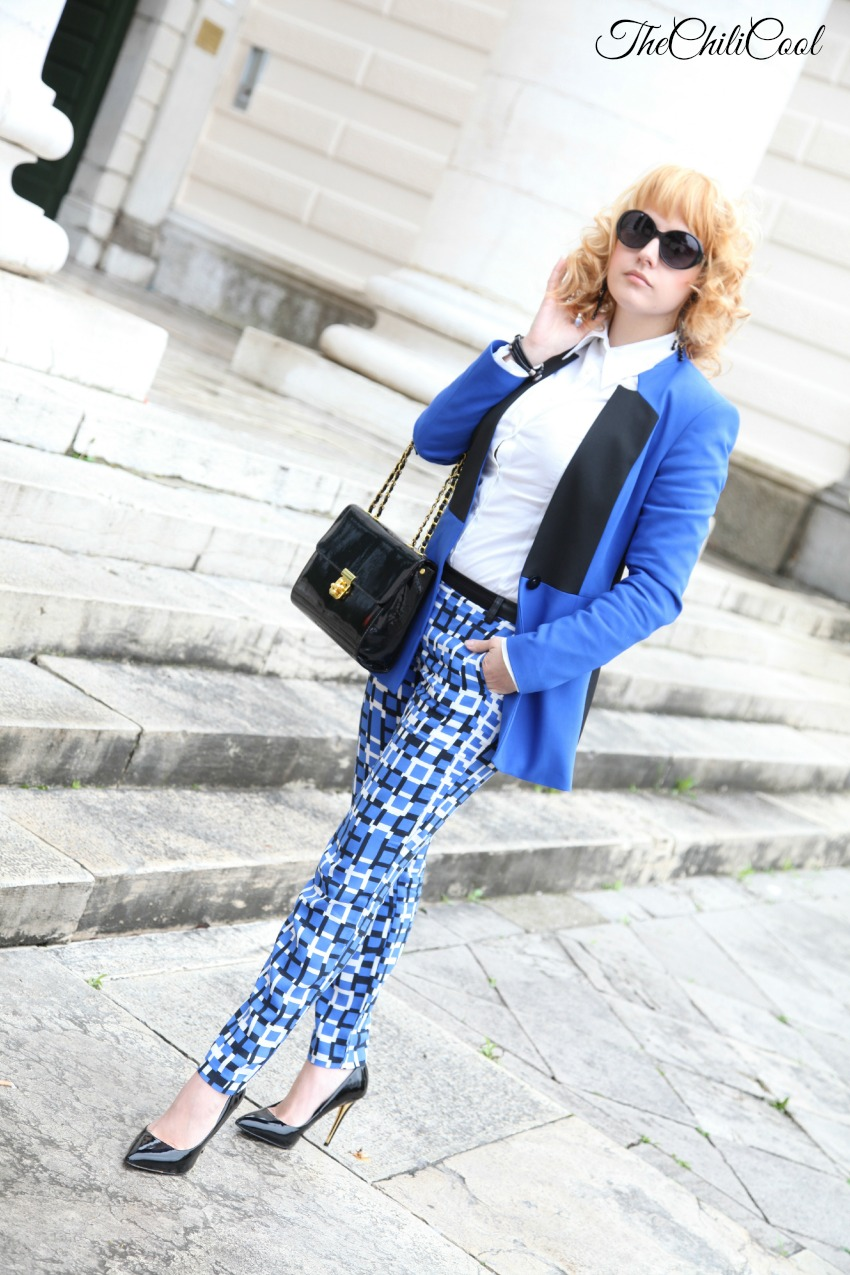 blue is the new black come quango, alessia milanese, thechilicool, fashion blog, fashion blogger