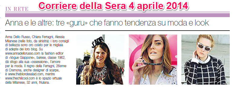 Press update Moda e Tendenza