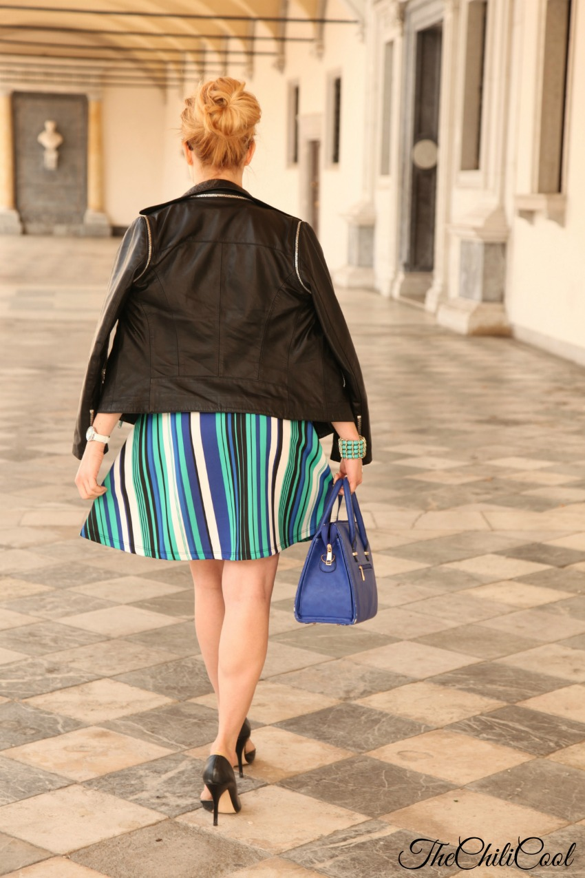 royal blue e turchese, con discreti cenni di nero, alessia milanese, thechilicool, fashion blog, fashion bloggers italiane