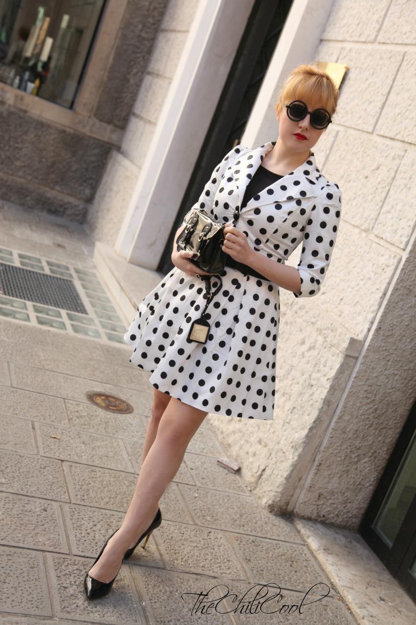 polka dots, alessia milanese, thechilicool, fashion blog, fashion blogger italiane