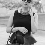 Black&white…modern fairy tale, alessia milanese, thechilicool, fashion blog, fashion blogger chanel 2.55 bag