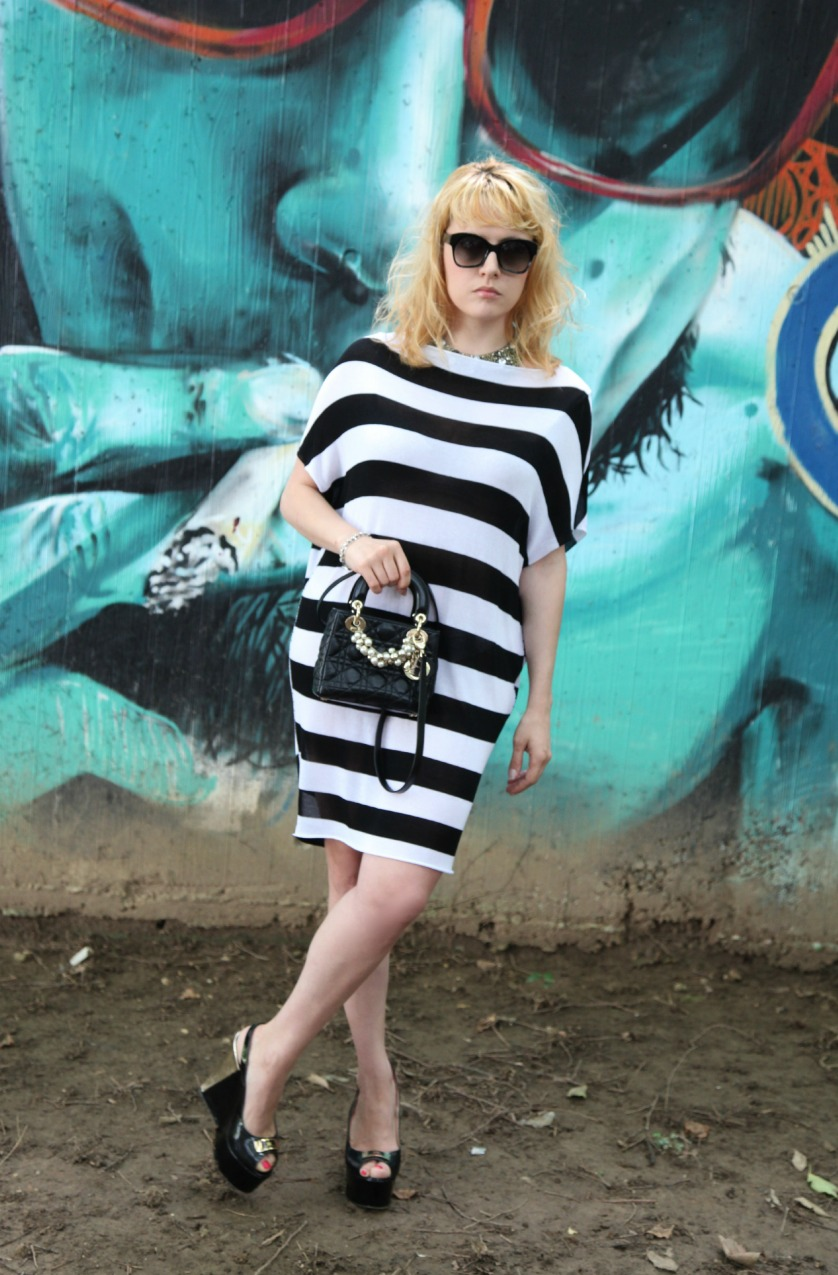striped, alessia milanese, thechilicool, fashion blog, fashion blogger, thechilicool, lady dior bag
