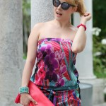 Flowers on my dress, alessia milanese, thechilicool, fashion blog, fashion blogger, accessorize
