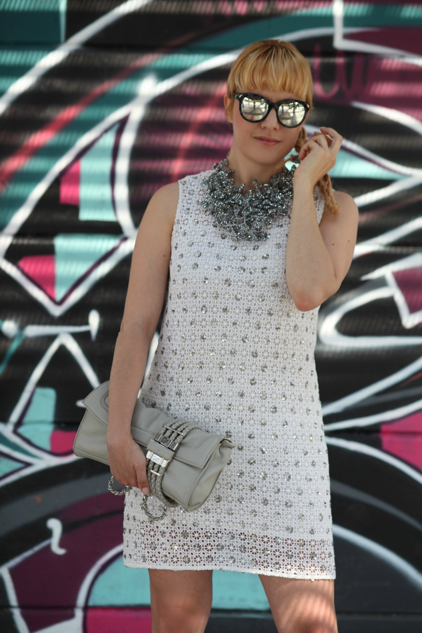 White lace & silver, alessia milanese, thechilicool, fashion blog, fashion blogger, ottaviani bijoux