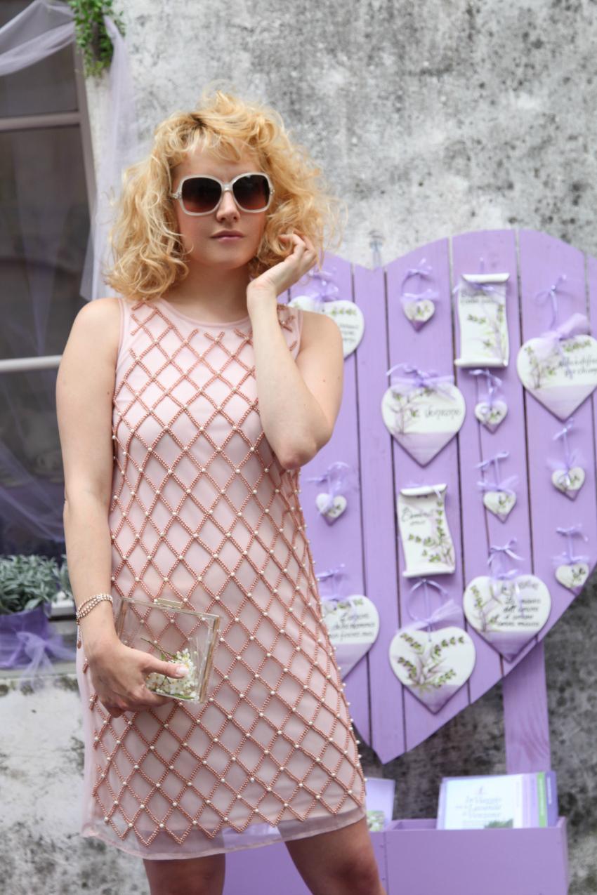 Del rosa e della lavanda, alessia milanese, thechilicool, fashion blog, fashion blogger, la kore abiti, gioielli kemira