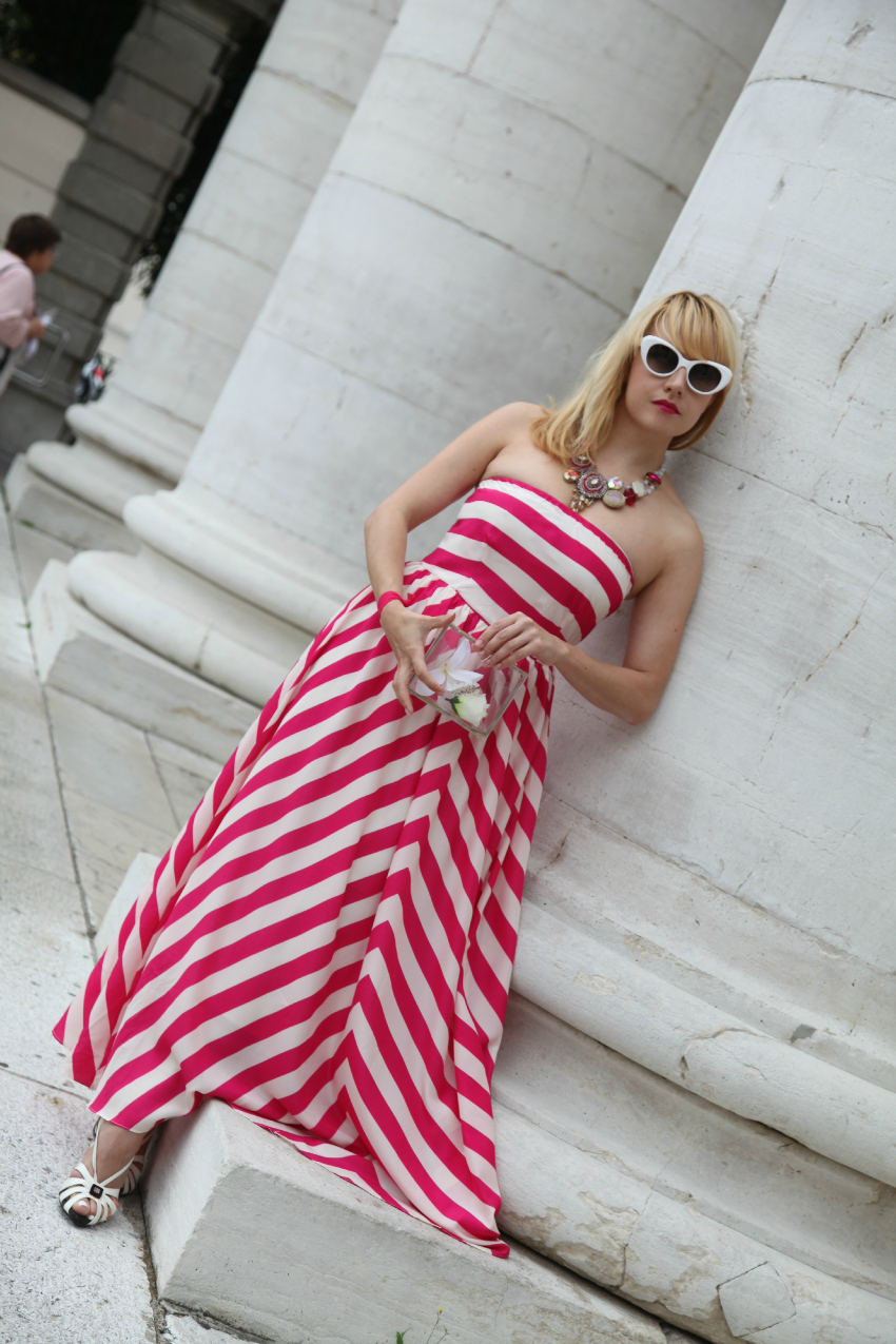 glam stripes, alessia milanese, thechilicool, fashion blog, fashion blogger, abito choies