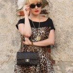 leopard prints, alessia milanese, thechilicool, fashion blog, fashion blogger, chanel 2.55 bag