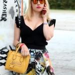 Streetstyle skirt, alessia milanese, thechilicool, fashion blog, fashion blogger, mypinkocloset, pinko collezione primavera estate 2014, sandali cinti