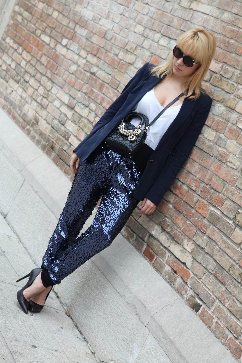 All blue, alessia milanese, thechilicool, fashion blog italiani, fashion blogger italiane, lady dior bag
