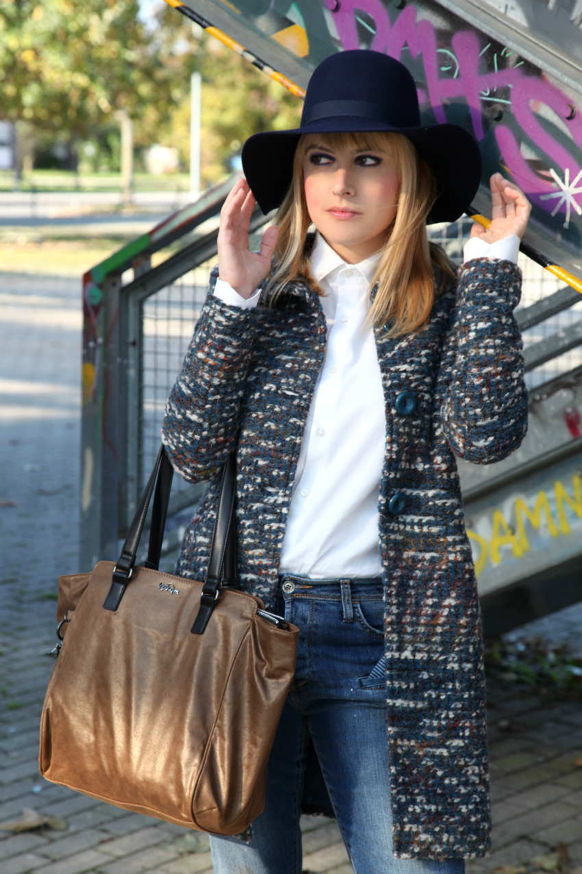 Cielo d'autunno, alessia milanese, thechilicool, fashion blog, fashion blogger, kipling borse, shewearskipling