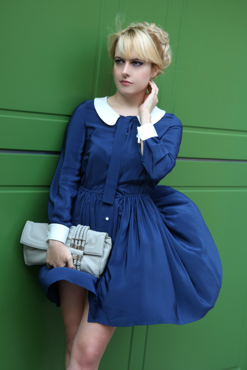 Peter Pan collar dress, alessia milanese, thechilicool, fashion blog, fashion blogger, princesse metropolitaine