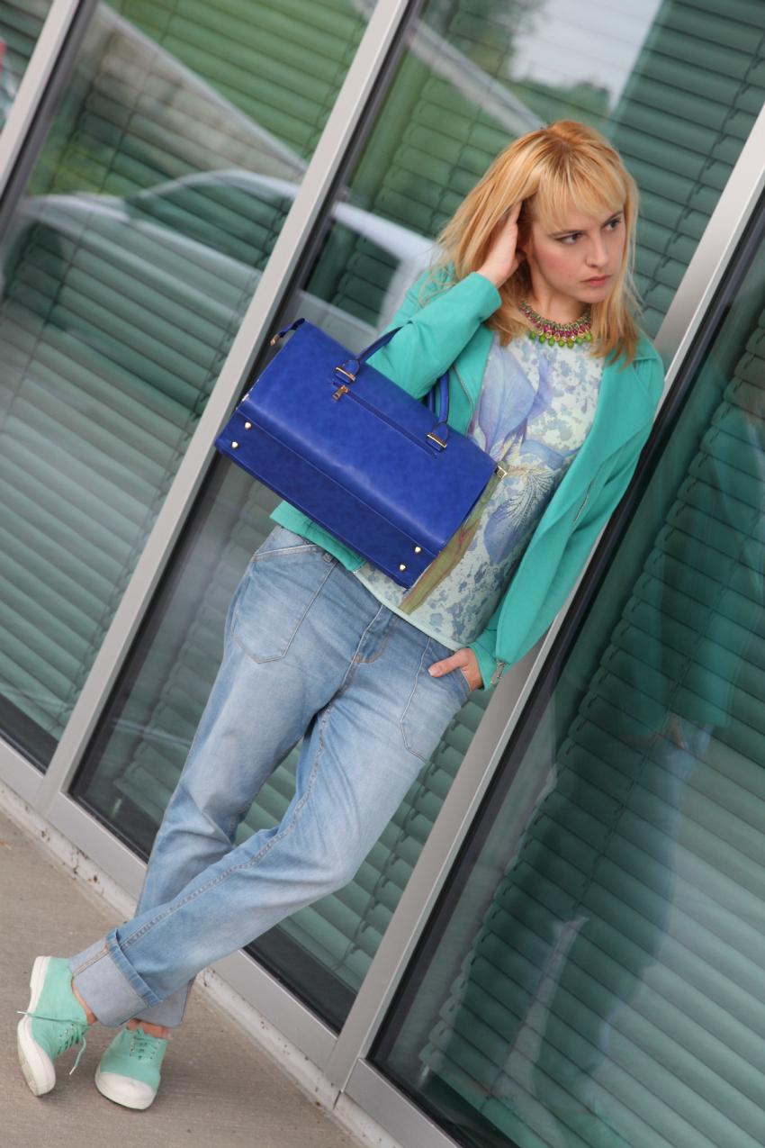 Tshirt & boyfriend jeans - Casual outfit del martedì, alessia milanese, thechilicool, fashion blog, fashion blogger, ottaviani bijoux
