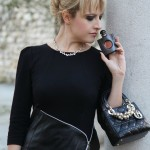Nero. E pelle. E anima., alessia milanese, thechilicool, fashion blog, fashion blogger, lady dior bag