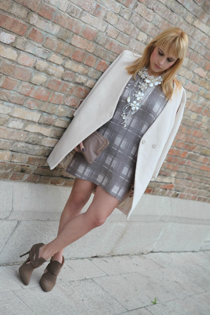 Un maglione che diventa abito e la purezza del bianco, alessia milanese, thechilicool, fashion blog, fashion blogger, ottaviani bijoux