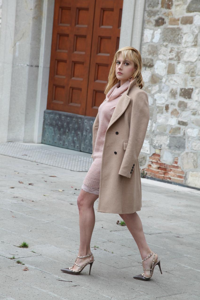 Il rosa. Nonostante tutto., alessia milanese, thechilicool, fashion blog, fashion blogger, scarpe valentino rockstud