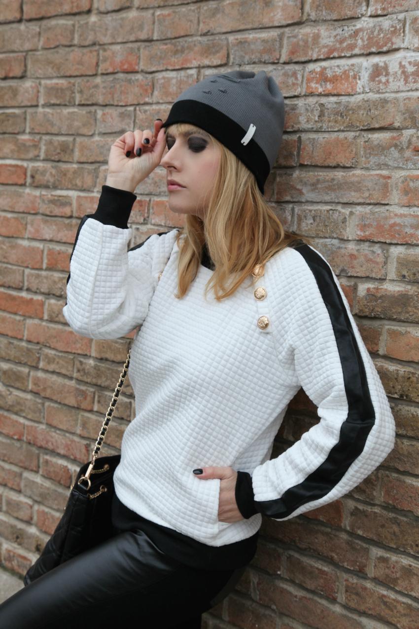Bianco. Inverno. E pelle., alessia milanese, thechilicool, fashion blog, fashion blogger, scarpe tata italia