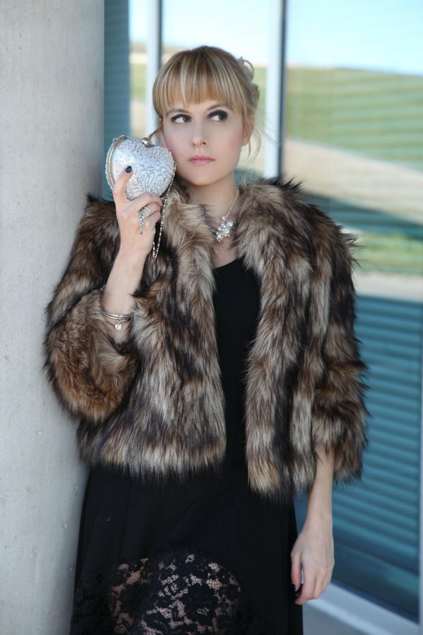 Black & fur: outfit per capodanno, alessia milanese, thechilicool, fashion blog, fashion blogger, ventifive