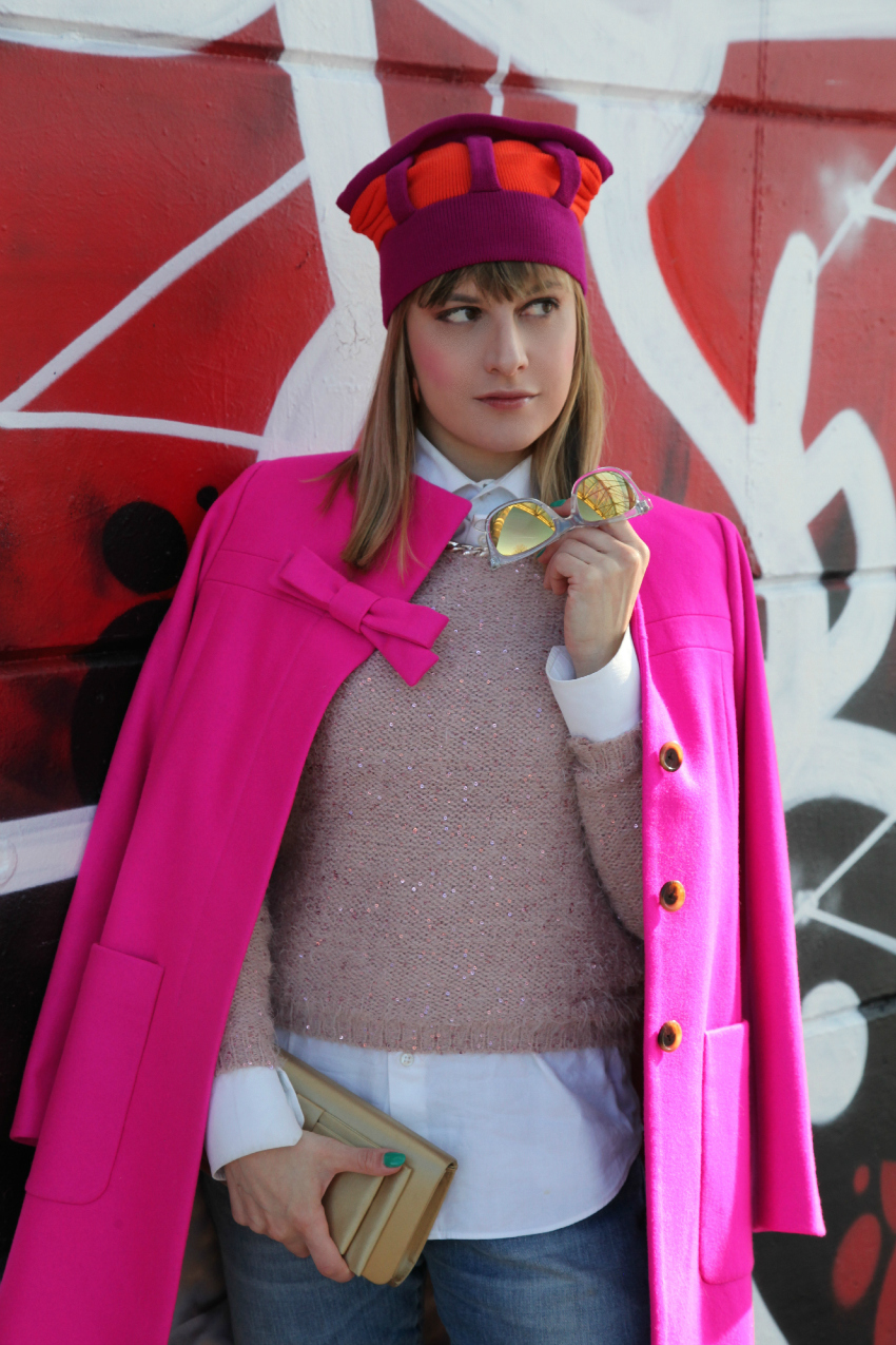 Rosa, intenti e strade da percorrere, alessia milanese, thechilicool, fashion blog, fashion blogger, j crew coat