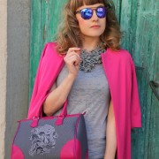 In pink we trust, alessia milanese, thechilicool, fashion blog, fashion blogger, monya grana hybla, rocks eyewear