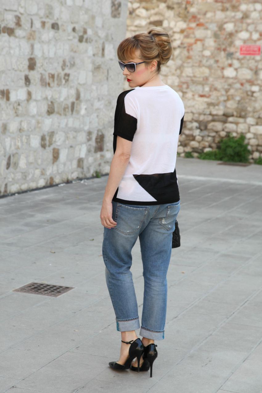 Sogni e desideri in bianco e nero, alessia milanese, thechilicool, fashion blog, fashion blogger, carla b, lady dior bag