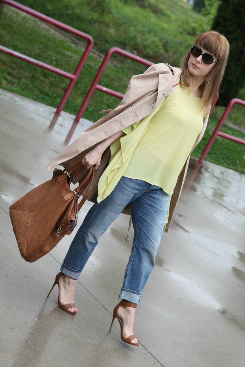 Yellow & rain, alessia milanese, thechilicool, fashion blog, fashion blogger, mercury luxury orecchini