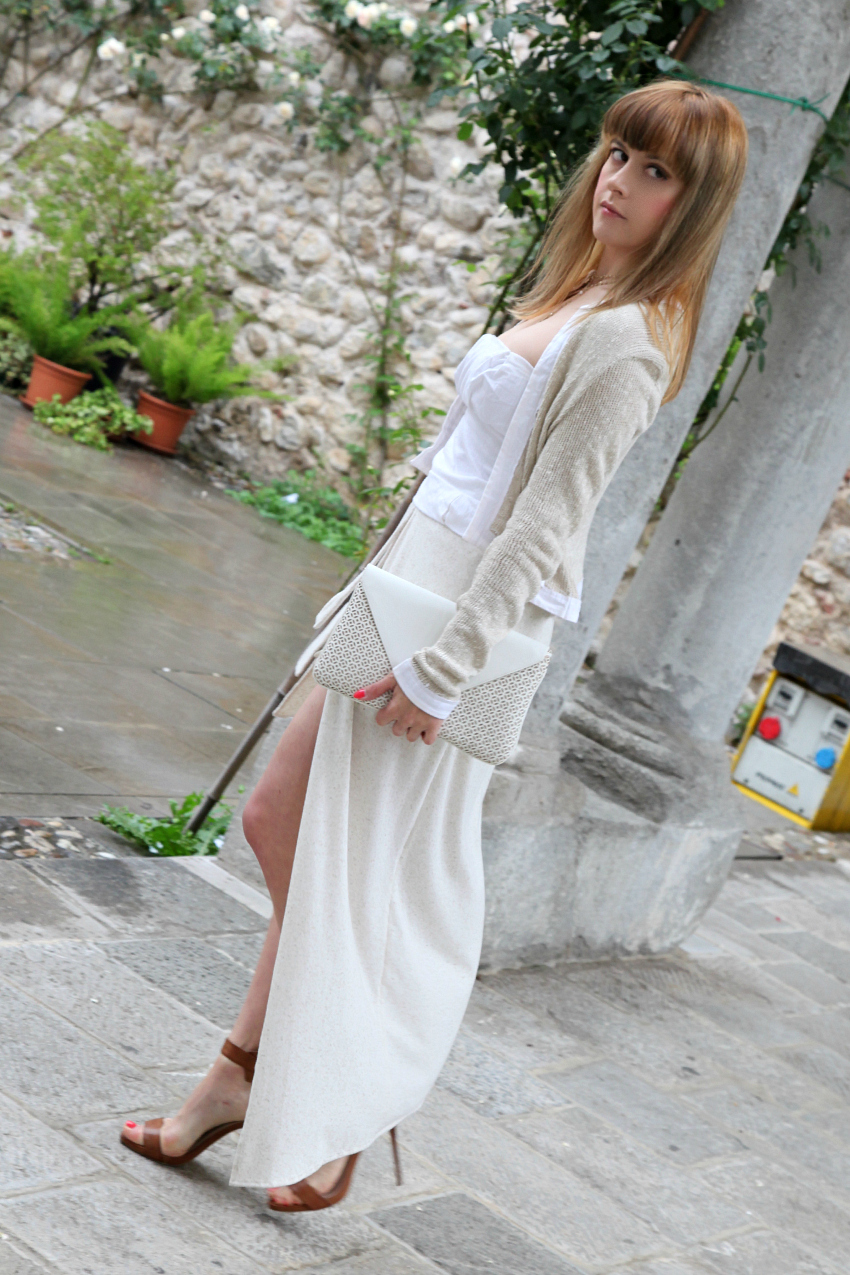 Sand & white, alessia milanese, thechilicool, fashion blog, fashion blogger, one soul abiti ed accessori , zoppini gioielli