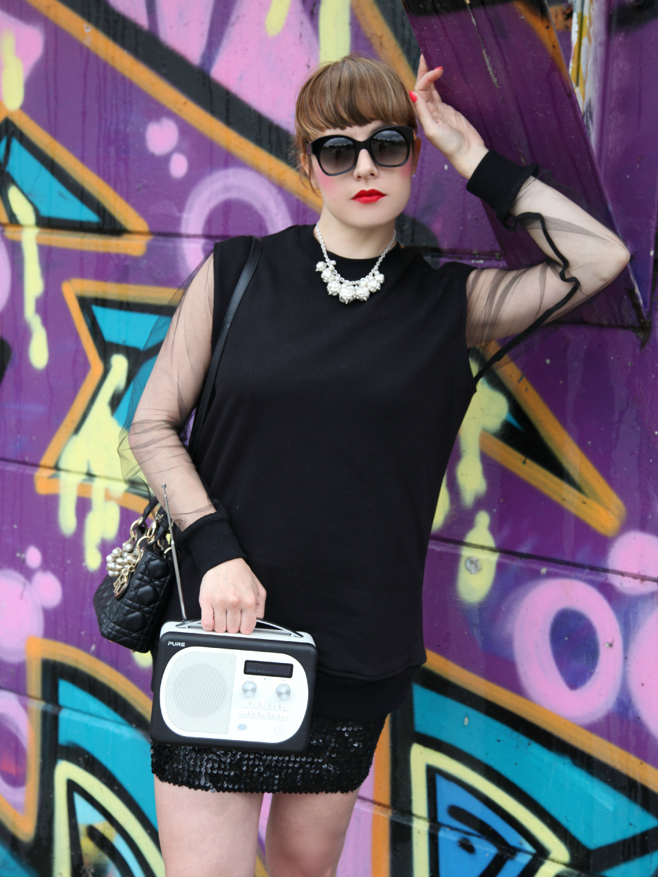 black attitude, alessia milanese, thechilicool, fashion blog, fashion blogger, qsixtyone , lady dior bag