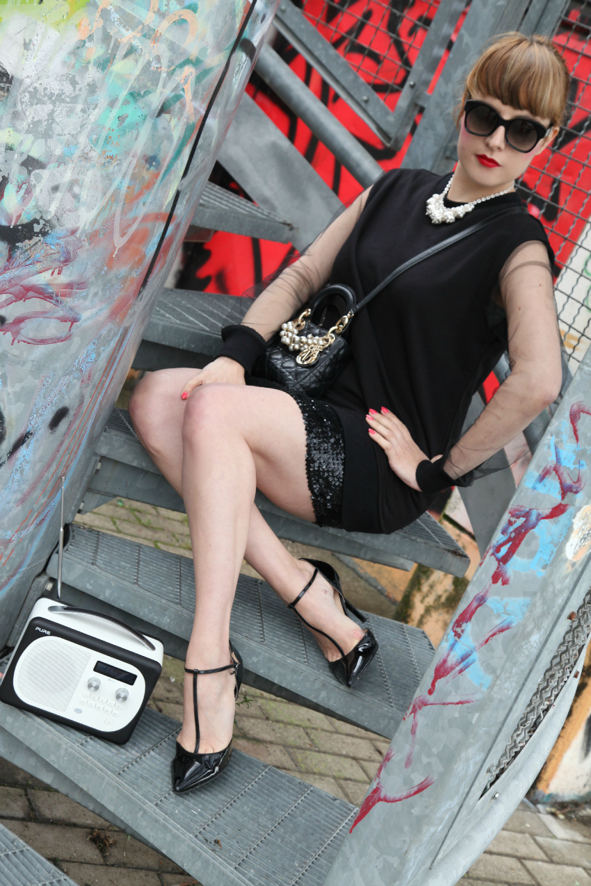 black attitude, alessia milanese, thechilicool, fashion blog, fashion blogger, qsixtyone , lady dior bag
