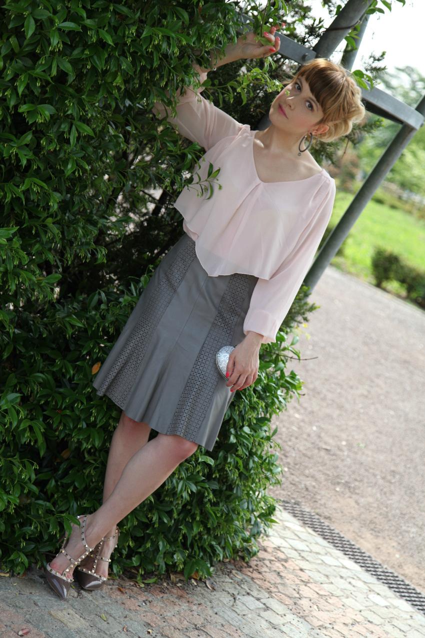 Come quando. Di rosa e di grigio. - TheChiliCool Fashion Blog Italia e127717fb48