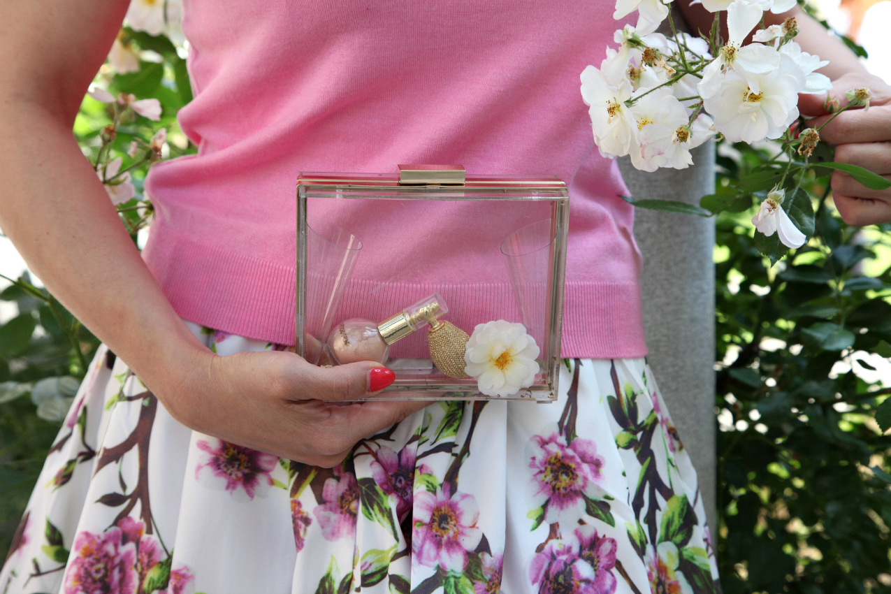 pink on flowers, alessia milanese, thechilicool, fashion blog, fashion blogger, mercantia  bijoux