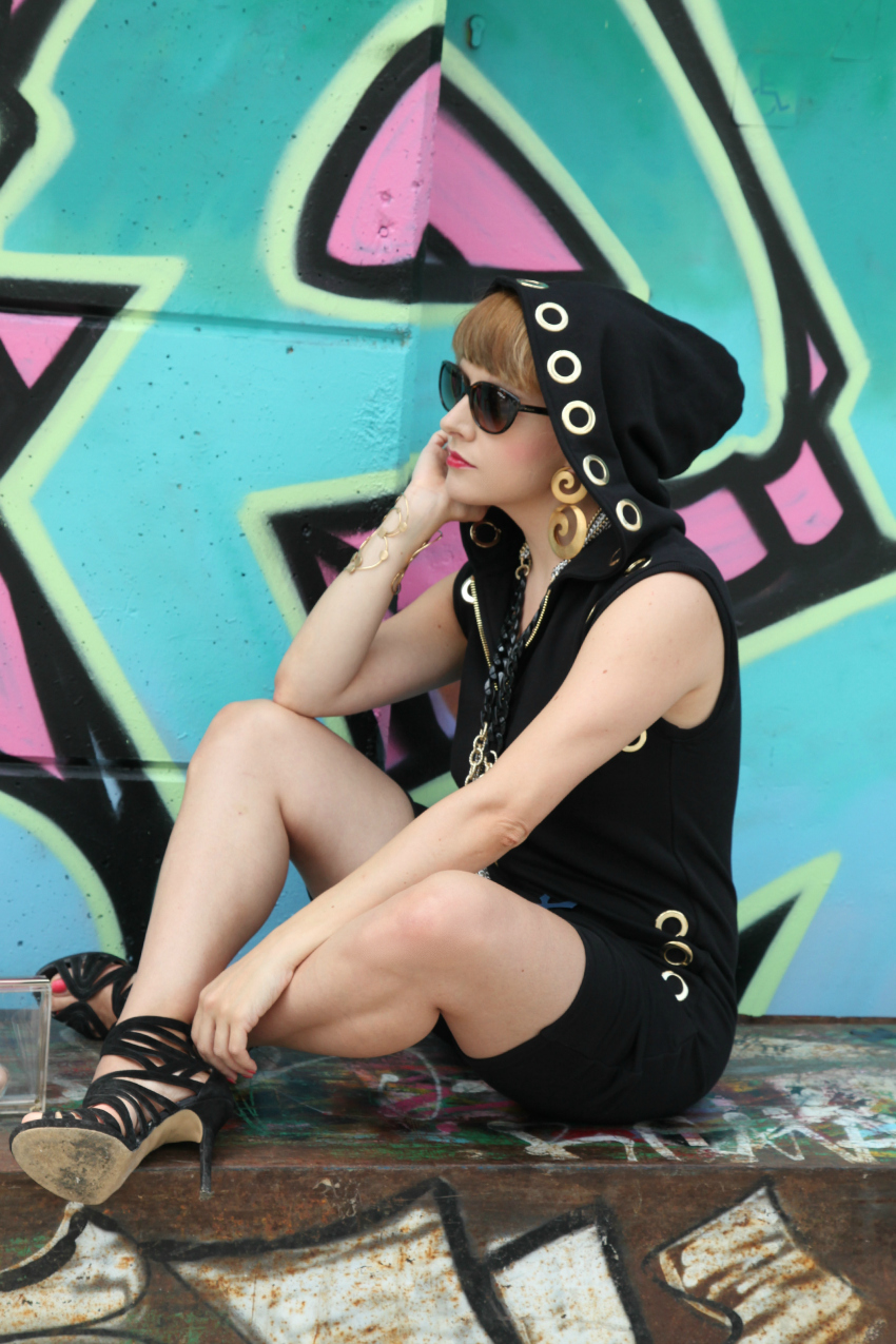 gangsta, alessia milanese, thechilicool, fashion blog, fashion blogger, qsixtyone jumpsuit