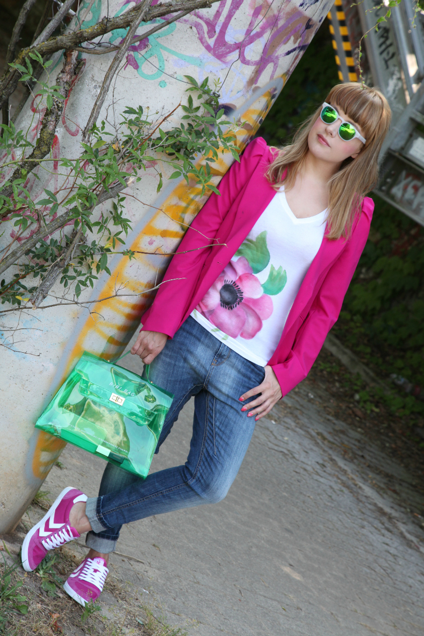 Menta e petali di rosa - nel frattempo, tu corri., alessia milanese, thechilicool, fashion blog, fashion blogger, hummel