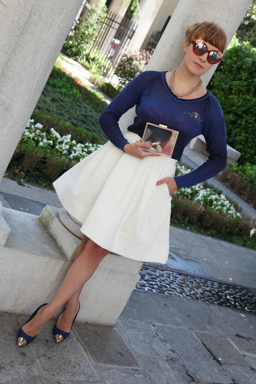 Blu. come la notte, alessia milanese, thechilicool, fashion blog, fashion blogger, aeronautica militare