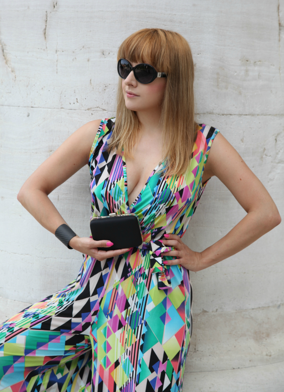 #Wearingittoday: una jumpsuit ed un caleidoscopio di colori