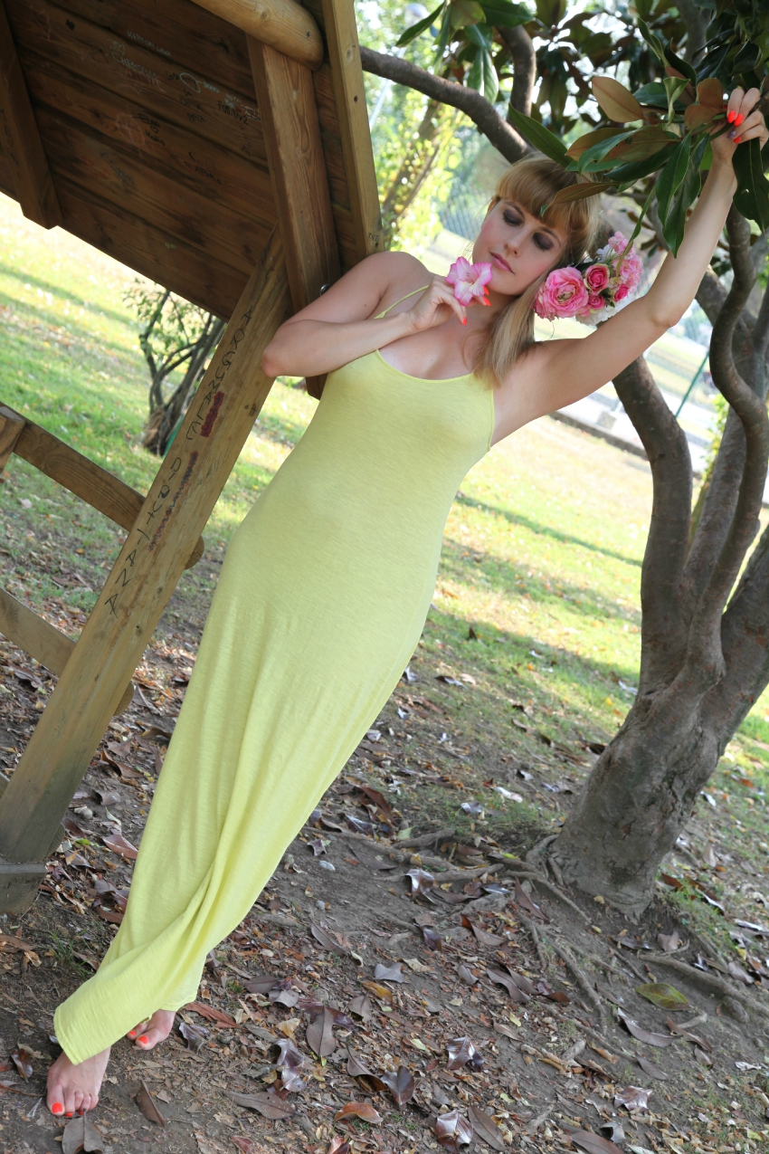 Feel like yellow, alessia milanese, thechilicool, fashion blog, fashion blogger, miawish dress