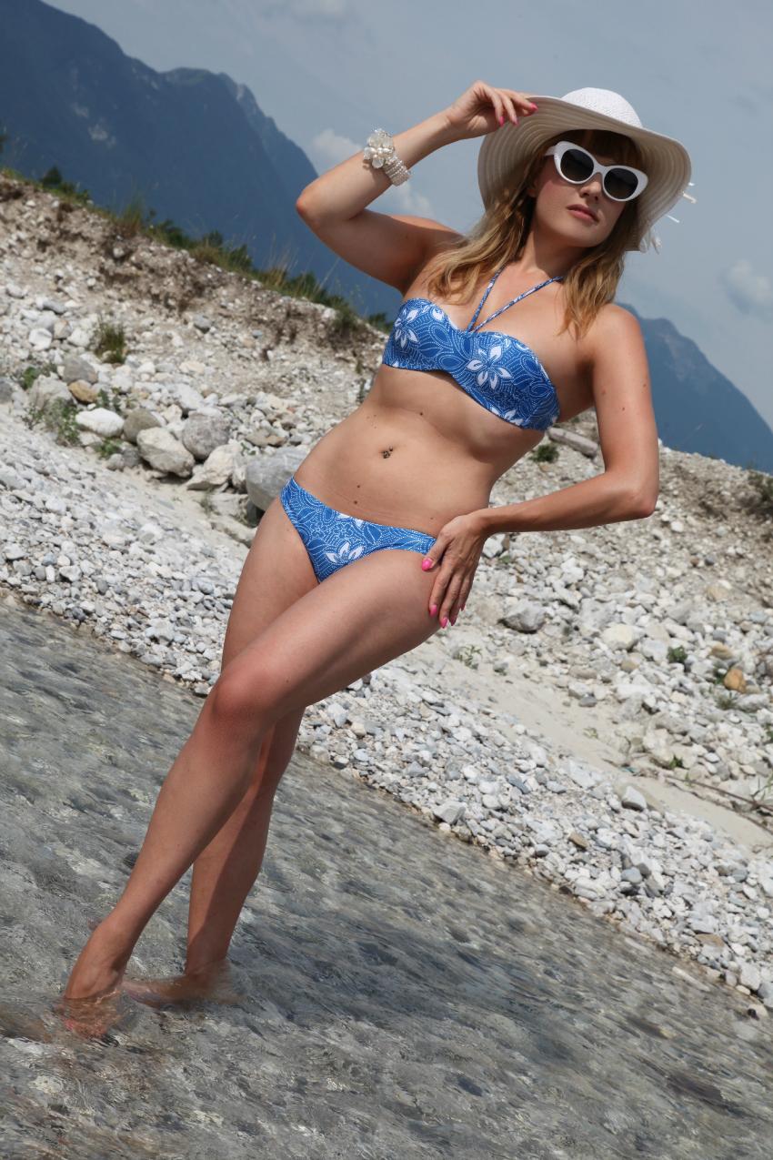 Un bikini e le placide acque di un fiume, alessia milanese, thechilicool, fashion blog, fashion blogger, lidl italia see you in athens