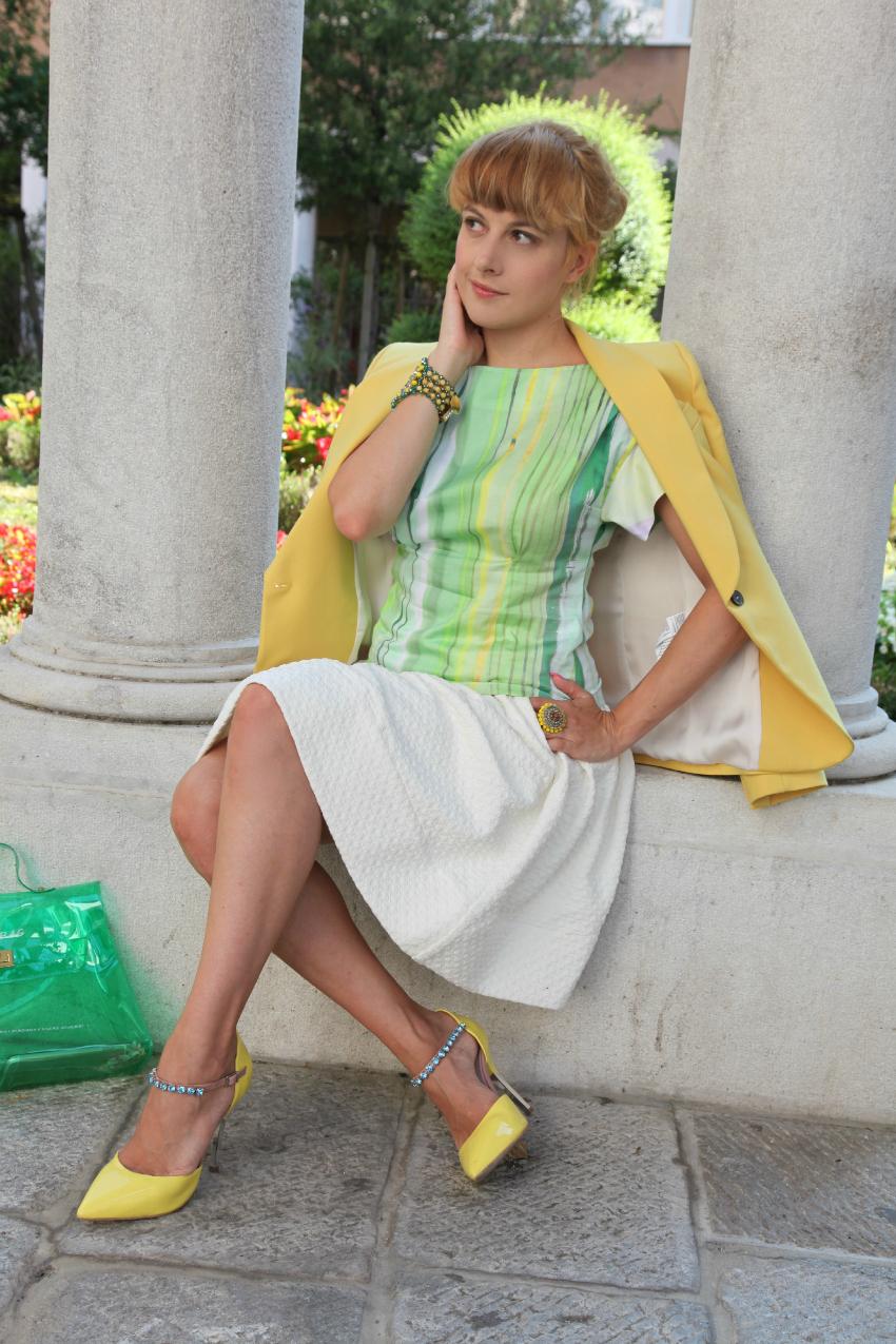 Giallo, tempo che passa e amore, alessia milanese, thechilicool, fashion blog, fashion blogger, nara camicie, sodini bijoux