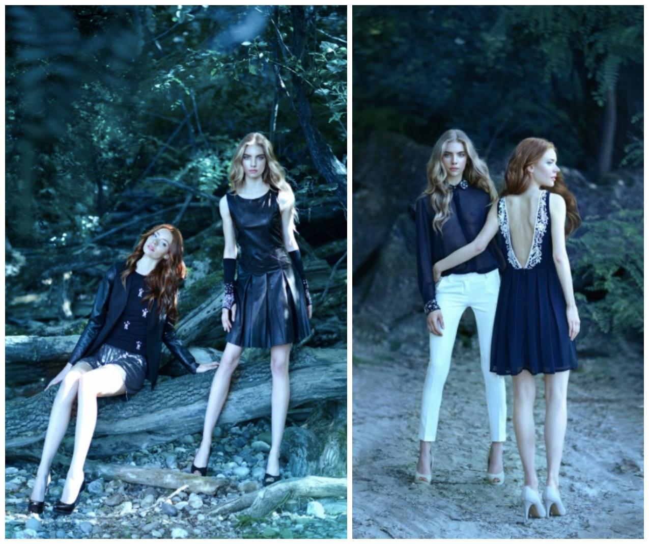 La Kore FW '15-'16 collection: nero, bagliori di luce e abiti da sirena, alessia milanese, thechilicool, fashion blog, fashion blogger