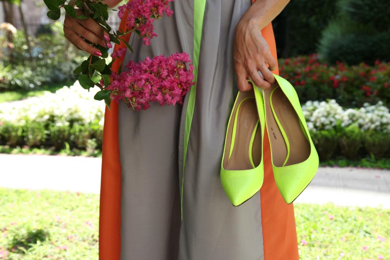 Un abito, dettagli fluo e sogni in divenire , alessia milanese, thechilicool, fashion blog, fashion blogger , choies