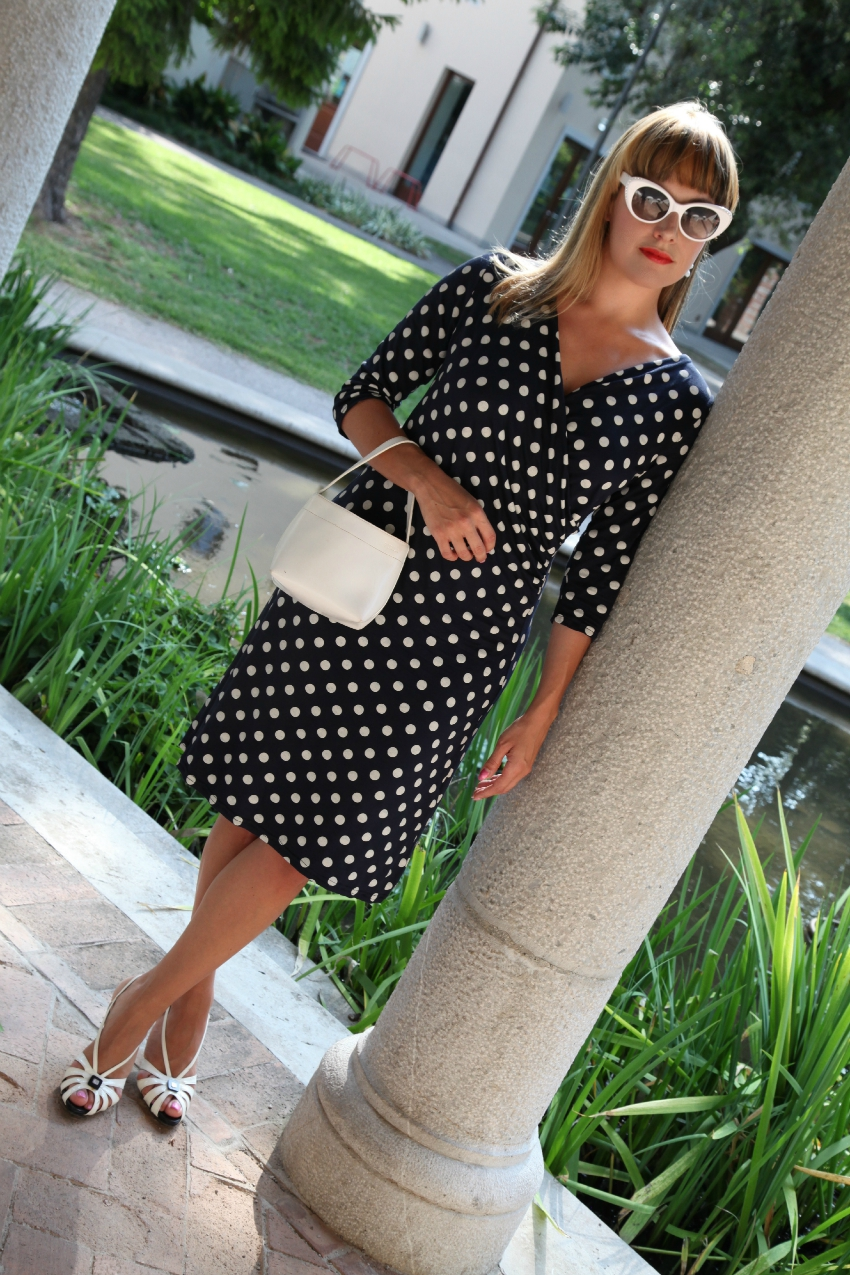 Polka dots' ladylike, alessia milanese, thechilicool, fashion blog, fashion blogger, showroomprive