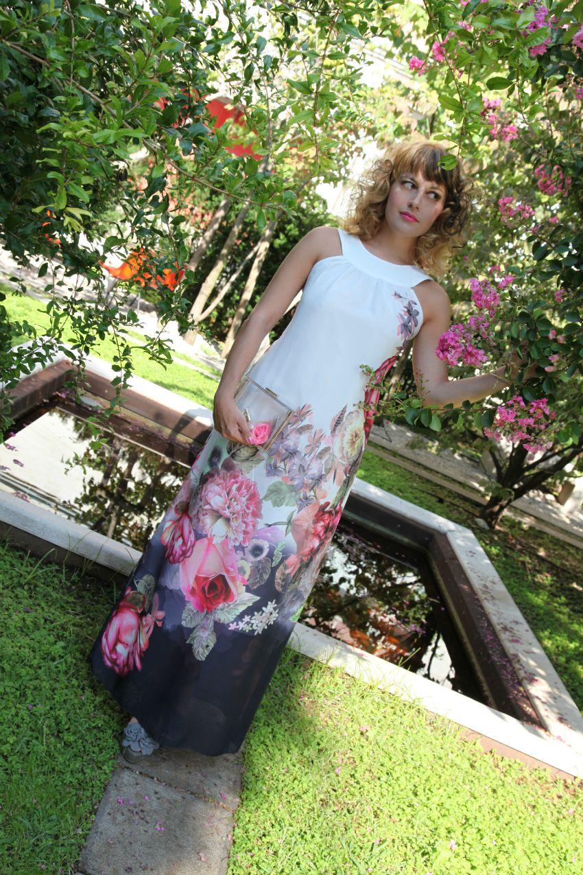 Fiori, un abito color latte e vento da Sud, alessia milanese,  thechilicool, fashion blog, fashion blogger, zaful