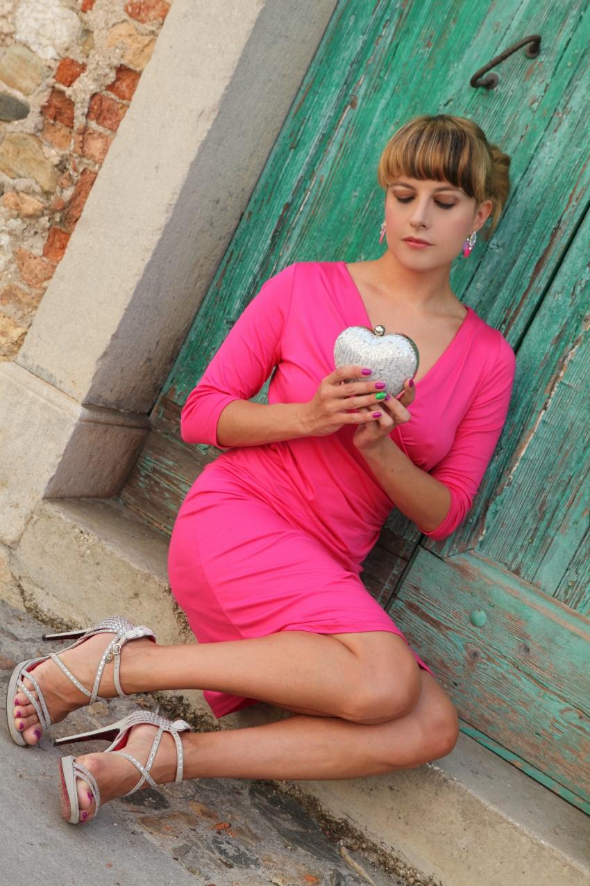 Rosa, fotografie a colori e la luce dell'alba, alessia milanese, thechilicool, fashion blog, fashion blogger, ottavini bijou
