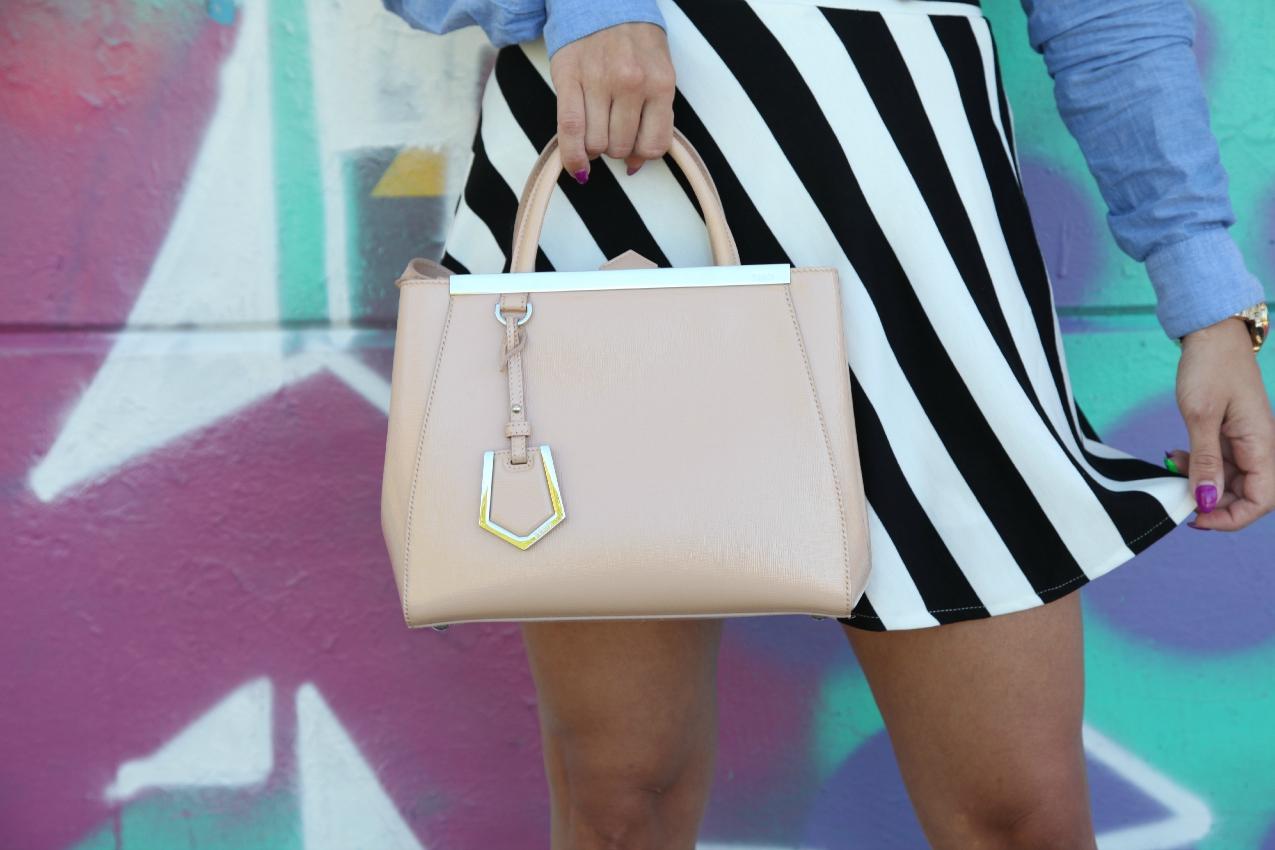 Azzurro, righe e la perfettibilità di un attimo, alessia milanese, thechilicool, fashion blog, fashion blogger, ottavini bijoux, fendi 2 jours