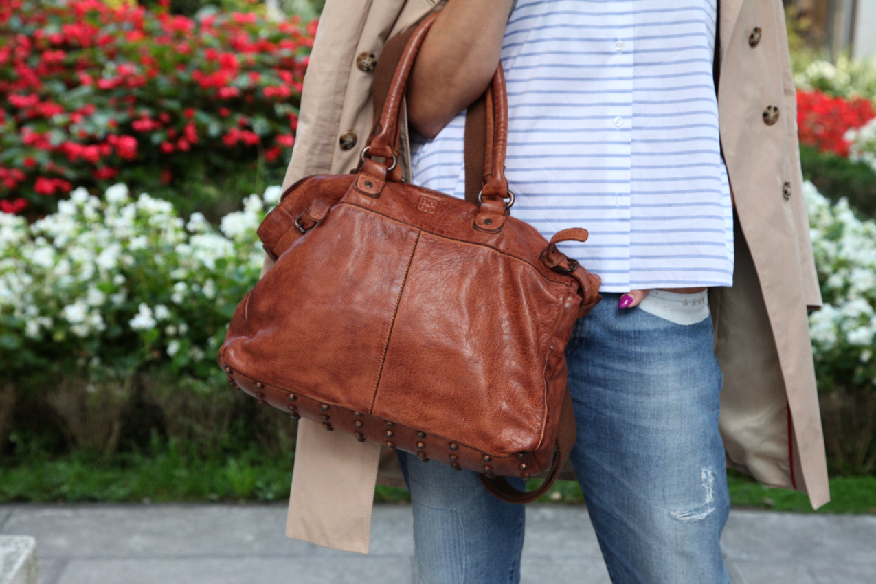 Autunno, attese e camicie a righe, alessia milanese, thechilicool, fashion blog, fashion blogger, dudu bags, nara camicie